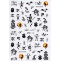 Stickers Nail Art Halloween 5