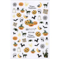 Stickers Nail Art Halloween 7