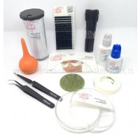Starter Kit Completo Extension Ciglia professionale