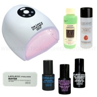 Kit completo Smalto Semipermanente Layla Gel Polish.