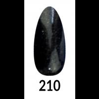 Layla Gel Polish Smalto Gel Semipermanente - 210 - Black Star