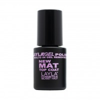 MAT TOP COAT LAYLA GEL POLISH