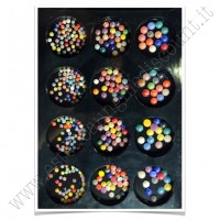 SET decorazioni nail art Palline Colorate