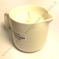 Sibel HOT MASSAGE Oil - Olio da massaggio a candela alla LAVANDA