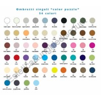 Ombretti FILM singoli Color Puzzle (tavola colori n2)