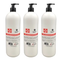 3 X Gel Igienizzante Mani Susan Darnell con dispenser - 1000 ml