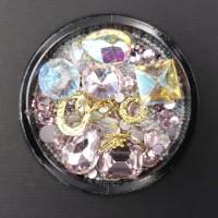 NailArt RhineStones & Overlays Mix iridescent 4204208
