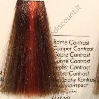 Tinta Contrasto Professionale per capelli con ammoniaca Inebrya Rame