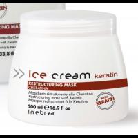 Maschera Recstructuring Ice Creme Inebrya alla Cheratina 500 ml