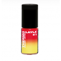 Layla Smalto Nail Polish Thermo Effect - 03 RED TO YELLOW