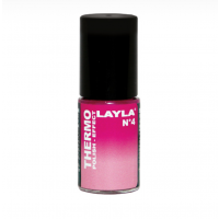 Layla Smalto Nail Polish Thermo Effect - 04 DARK TO LIGHT PINK