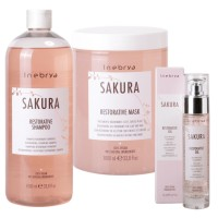 SET INEBRYA SAKURA RESTORATIVE TREATMENT