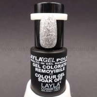 Layla Gel Polish Smalto Gel Semipermanente - 200 - Super Silver