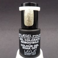 Layla Gel Polish Smalto Gel Semipermanente - 201 - Super Gold