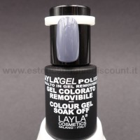 Layla Gel Polish Smalto Gel Semipermanente - 236 true grey.