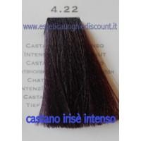 Tinta Capelli Professionale CorIng ING agli acidi di frutta da 100 ml - 4.22 CASTANO RIRSE INTENSO