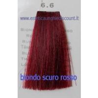 Tinta Capelli Professionale CorIng ING agli acidi di frutta da 100 ml - 6.6 BIONDO SCURO ROSSO