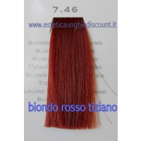 Tinta Capelli Professionale CorIng ING agli acidi di frutta da 100 ml - 7.46 BIONDO ROSSO TIZIANO