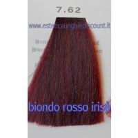 Tinta Capelli Professionale CorIng ING agli acidi di frutta da 100 ml - 7.62 BIONDO ROSSO IRISE