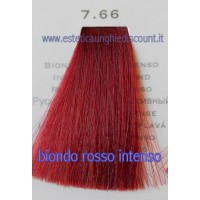 Tinta Capelli Professionale CorIng ING agli acidi di frutta da 100 ml - 7.66 BIONDO ROSSO INTENSO