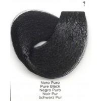 Tinta Colorante Professionale per capelli con ammoniaca Inebrya Nero Puro 1