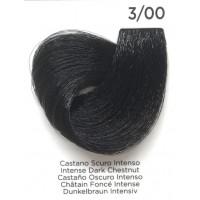 Tinta Colorante Professionale per capelli con ammoniaca Inebrya Castano Scuro Intenso 3.00