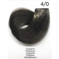 Tinta Colorante Professionale per capelli con ammoniaca Inebrya Castano 4.0