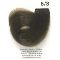 Tinta Colorante Professionale per capelli con ammoniaca Inebrya Biondo Scuro Matte 6.8
