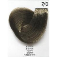 Tinta Colorante Professionale per capelli con ammoniaca Inebrya Biondo 7.0