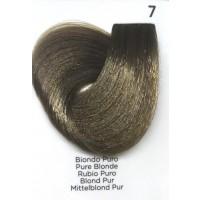 Tinta Colorante Professionale per capelli con ammoniaca Inebrya Biondo Puro 7