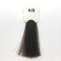 Crema Colorante INEBRYA Bionic Color senza ammoniaca Professionale Permanente 4.0 Castano