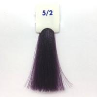 Crema Colorante INEBRYA Bionic Color senza ammoniaca Professionale Permanente 5.2 Castano Chiaro Viola