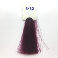 Crema Colorante INEBRYA Bionic Color senza ammoniaca Professionale Permanente 5.52 Castano Chiaro Mogano Viola