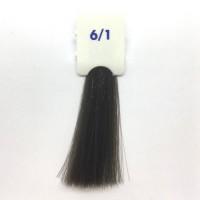 Crema Colorante INEBRYA Bionic Color senza ammoniaca Professionale Permanente 6.1 Biondo Scuro Cenere
