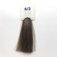 Crema Colorante INEBRYA Bionic Color senza ammoniaca Professionale Permanente 6.3 Biondo Biondo Scuro Dorato