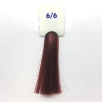 Crema Colorante INEBRYA Bionic Color senza ammoniaca Professionale Permanente 6.6 Biondo Scuro Rosso