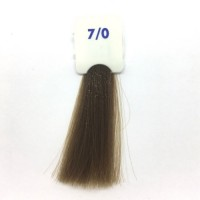 Crema Colorante INEBRYA Bionic Color senza ammoniaca Professionale Permanente 7.0 Biondo