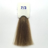 Crema Colorante INEBRYA Bionic Color senza ammoniaca Professionale Permanente 7.3 Biondo Dorato