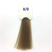 Crema Colorante INEBRYA Bionic Color senza ammoniaca Professionale Permanente 8.0 Biondo Chiaro