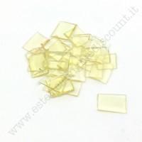 Unghiette unghie Polimeri in cheratina keratina per extension 25 pezzi BIONDO