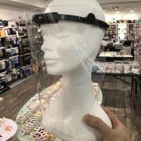 Visiera Lombard in Plexiglass Antiriflesso e Antiappannamento regolabile