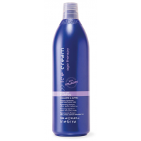 Hair Lift Shampoo Ice Creme Inebrya al collagene e zaffiro da 1000 ml
