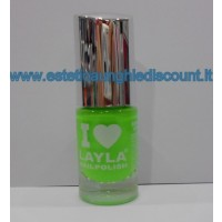Layla Nail Polish Smalto I Love Layla  - 08 LIGHT GREEN FLUO