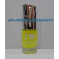 Layla Nail Polish Smalto I Love Layla - 04 YELLOW FLUO
