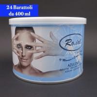 Cera Liposolubile Roial Barattolo all'Azulene 400 ml conf.24 pezzi