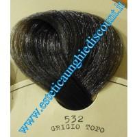 Finet color lacca colorata grigio topo