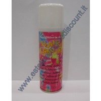 Hair Color spray colore metallizzato Bianco