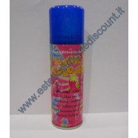 Hair Color spray colore Fluo Blu