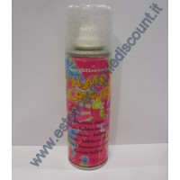 Hair Color spray colore Glitterato Blu