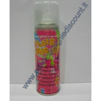 Hair Color spray colore Glitterato Argento